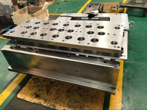 Air Poppet in injection mold