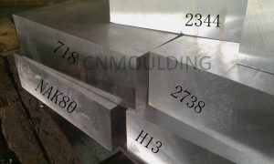 Widely used injection mold steels